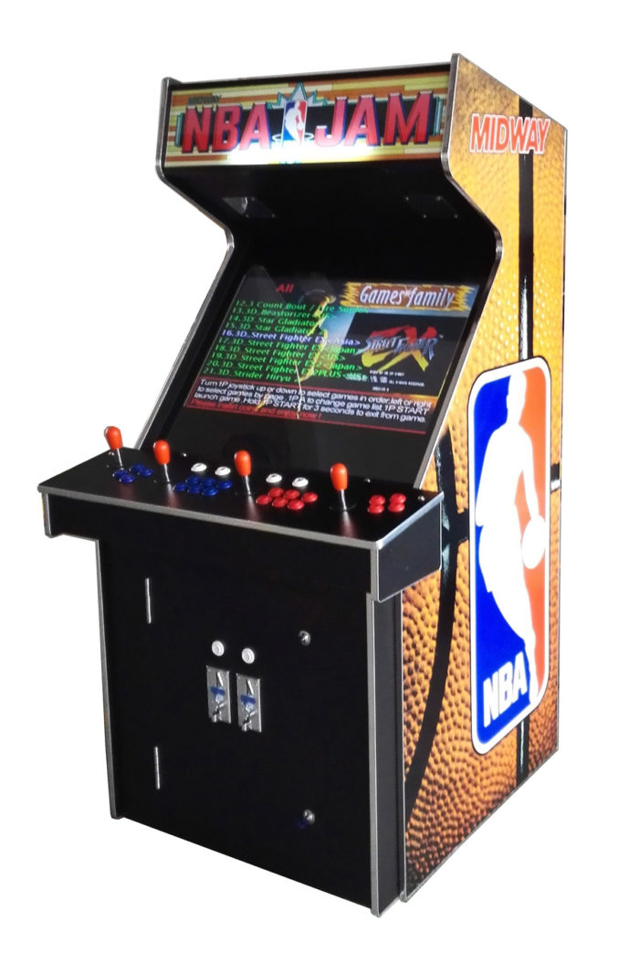 Arcade Rewind 3500 Game Upright Arcade Machine With NBA JAM for sale Perth