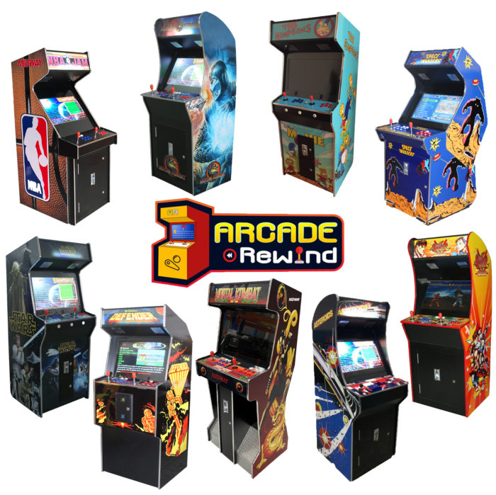 Arcade Rewind 3500 Game Upright Arcade Machines 26 inch Screen melbourne