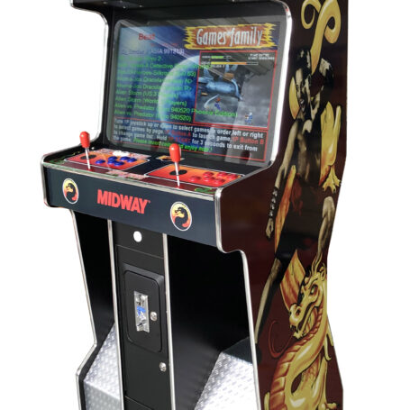 Arcade Rewind 3500 Game Slim Upright Arcade Machine Mortal Kombat 1 for sale brisbane