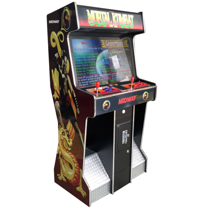 Arcade Rewind 3500 Game Slim Upright Arcade Machine 32 inch Screen for sale melbourne