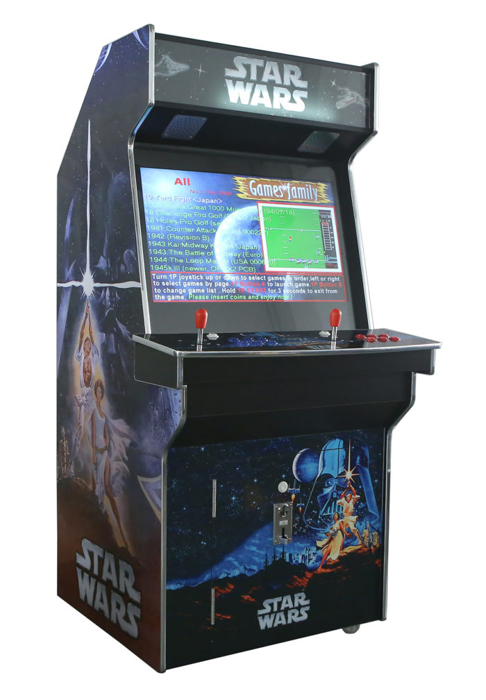 Upright Arcade Machine Star Wars Sydney