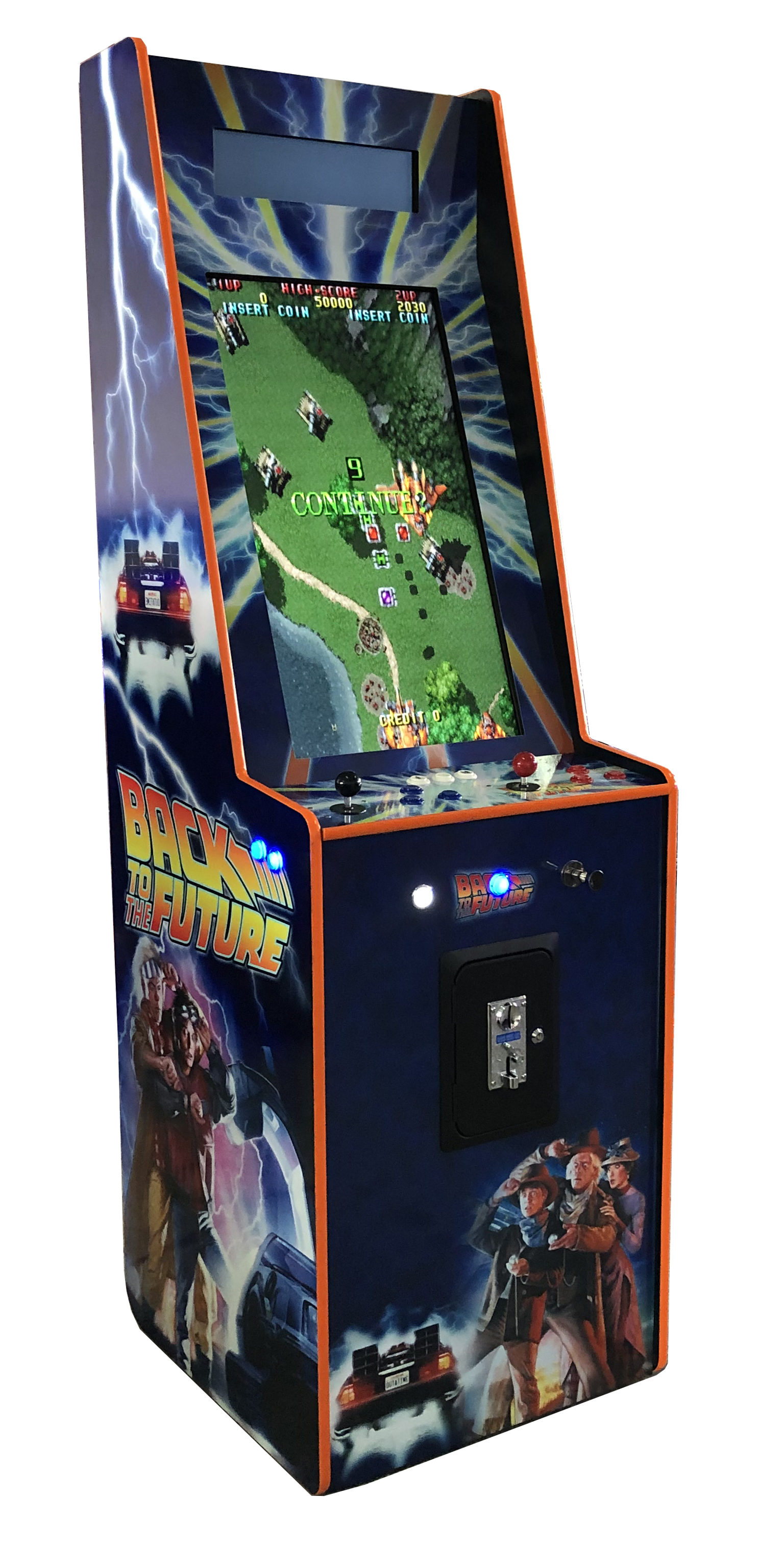 Back to the future Stand Up Pinball Arcade Melbourne