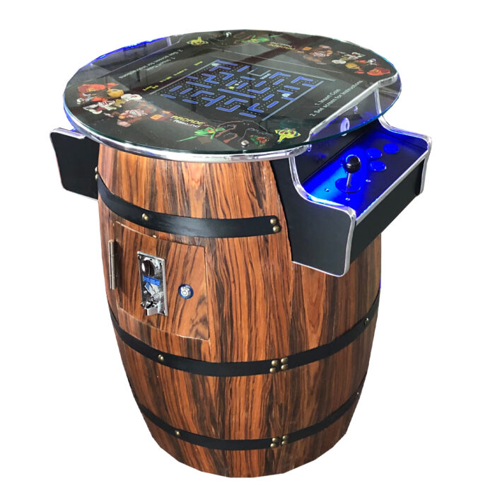 Arcade Rewind 60 Game Barrel Sit Down Arcade Machine Sydney Melbourne for sale
