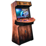 Arcade Rewind Woody 3500 Upright Arcade Machine 4 Player Trackball